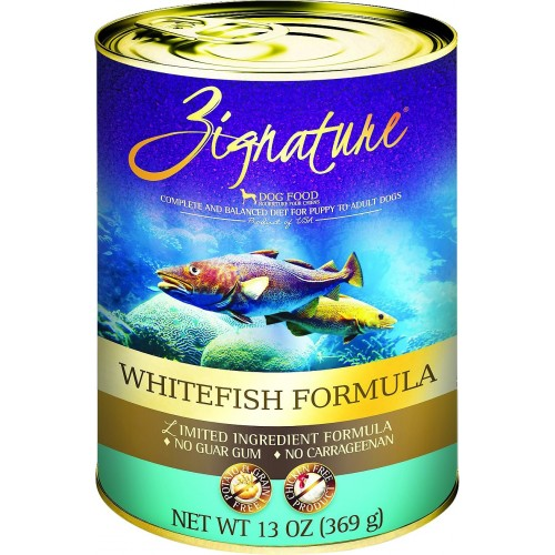 Zignature® Whitefish Limited Ingredient Canned Dog Food