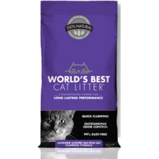 World's Best™ Lavender Scented Multiple Cat Clumping Litter