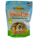 SO Bright® Grain Free Beef Liver Baked Treats