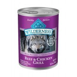 Blue™ Wilderness® Beef & Chicken Grill Canned Dog Food