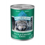 Blue™ Wilderness® Duck & Chicken Grill Canned Dog Food