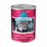 Blue™ Wilderness® Salmon & Chicken Grill Canned Dog Food