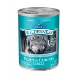Blue™ Wilderness® Trout & Chicken Grill Canned Dog Food