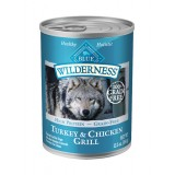 Blue™ Wilderness® Turkey & Chicken Grill Canned Dog Food