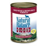 Natural Balance® LID Wild Boar & Brown Rice Canned Dog Food