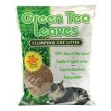 Green Tea Leaves Clumping Cat Litter